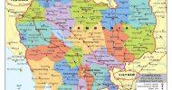 Bản đồ đất nước Campuchia