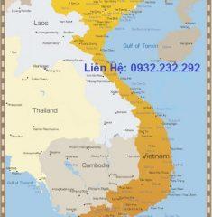 Bản Đồ Việt Nam Khổ Lớn ( Mẫu 7 )